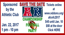 AFC/NFC Party - Jan. 22 (1-10 pm)