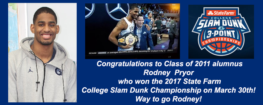 Rodney Pryor Wins Slam Dunk contest