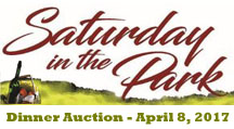 Saturday in the Park Dinner Auction April 8, 2017