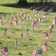 Dons Install United States Flags to Honor Military