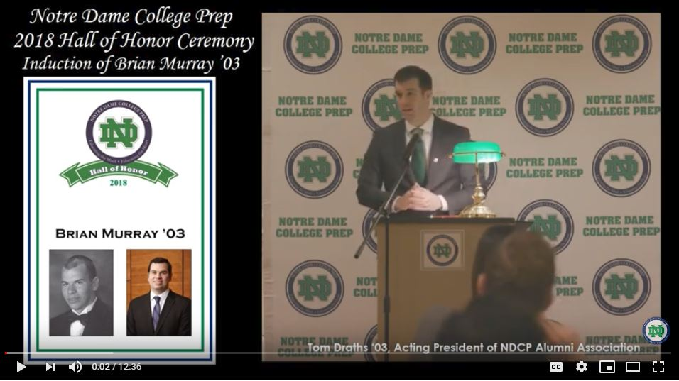 DonsLink Brian Murray 03 Memorial Scholarship Event