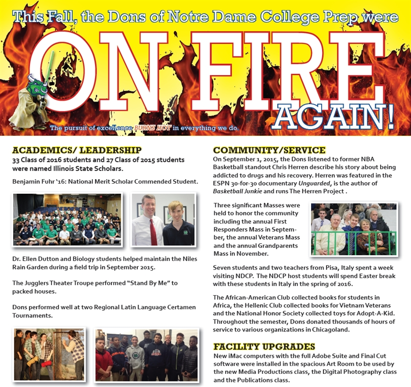 DonsLink - The Dons were on fire again during the Fall of 2015